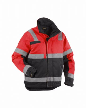 Blaklader 4862 Winter Jacket (Red/Black)